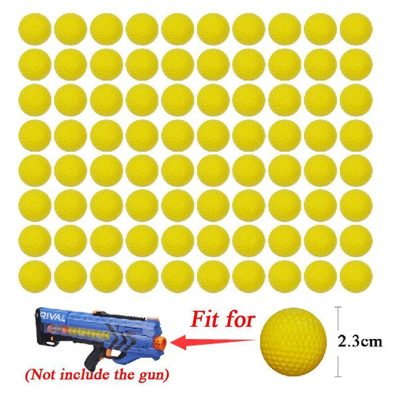 1PC High Quality Ball Bullets For Rival Zeus Apollo Nerf Toy Gun Soft Round Darts For Nerf Rivals Gun Best Gift J11