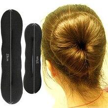 Модные 1 шт. женские волосы MagicFoam губка для волос пончик Быстрый Braiders повязка для волос булочка Updo головные уборы аксессуары для волос