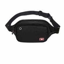 Swiss multi função men cintura packs à prova doxford água oxford casual peito pacote bolsa de dinheiro feminino pacote engraçado masculino bolsa de viagem unisex