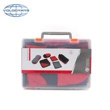 Car Cleaning Kit 7Pcs Super Absorberende Detaillering Handdoek Spons Wassen Mitt Microfiber Pad Voor Uiterlijk Interieur Velg Wassen