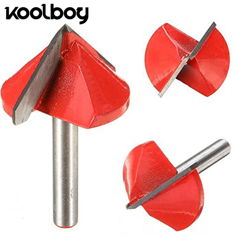 цена на 90 Degree Engraving V Groove Bit Tungsten Steel CNC Router Engraving Wood Working Tool Milling Cutter Machine Accessories 6x32mm