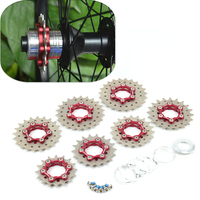 Fouriers CR S002 bicycle freewheel 9to1 Free wheels for bicycles 16 23t Modification of Single Speed Flywheel