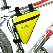 все цены на Bike Bag Cycling Bicycle Waterproof Top Tube Bag Front Saddle Bags Triangle Moutain Road MTB Frame Pouch Outdoor Accessories онлайн
