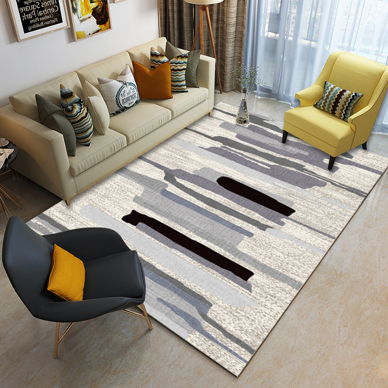 Nordic Carpets For Living Room Decorative Carpet Bedroom Sofa Coffee Table Rug Soft Modern Study Room Floor Mat Kids Tatami Rugs in Carpet from Home Garden