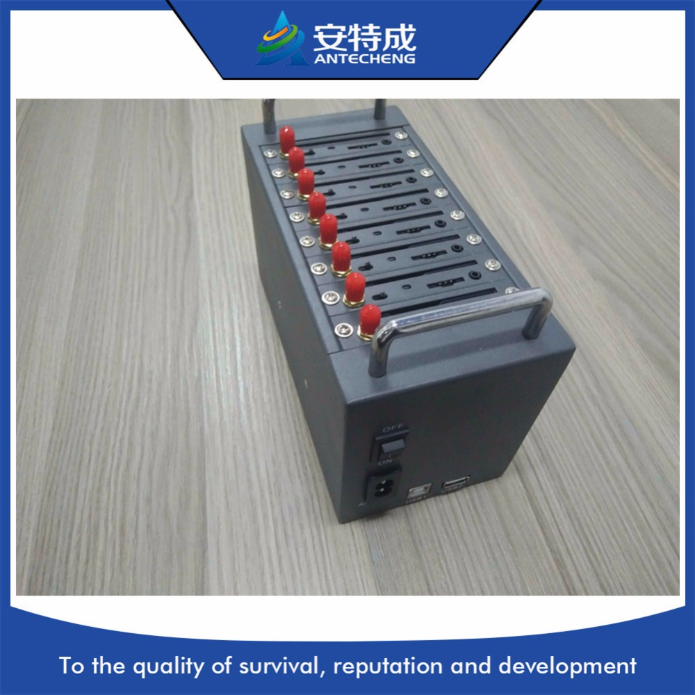 Antecheng wavecom 8 ports modem Q2403 bulk sms device & mobile recharging STK modemAntecheng wavecom 8 ports modem Q2403 bulk sms device & mobile recharging STK modem