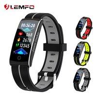 LEMFO F10C deportes reloj pulsera IP68 impermeable Monitor de presión arterial de ritmo cardíaco podómetro banda inteligente