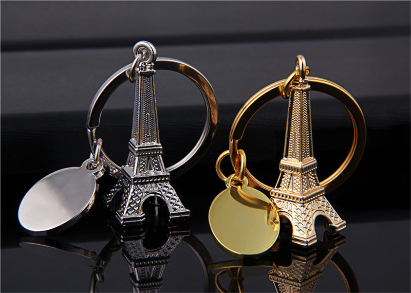 100 pcs creative wedding souvenirs mini Eiffel Tower keychain for the guests wedding gifts-in Key Chains from Jewelry & Accessories    1