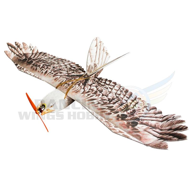 DW Hobby mousse planeur RC avion EPP biomimétique Mini aigle modèle avion envergure 1200mm lent Flyer avion formateur pour les débutants