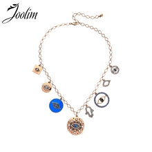 Joolim Fashion Jewelry Wholesale Hip Hop Necklace Eye Statement Collar Gift to Women