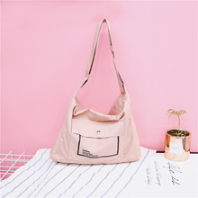 Casual Women's Messenger Bag Canvas Handbag Female Crossbody Shoulder Bag Ladies Tote Fashion Large Sac a Main bolsos Muje Hobo