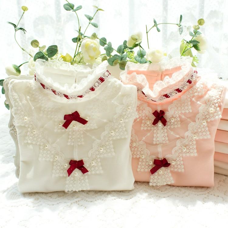 HTB1RmwOLXXXXXXVXVXXq6xXFXXXt - 2017 Autumn Girls Turtleneck T-Shirt Cotton Children White Pink Shirts Baby Girls Clothing Long Sleeve Bottom Tops For Kids