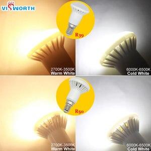 Image 4 - R50 Led Licht E14 E27 Basis 3W 5W 7W 9W 12W 15W 20W led lampe R39 R63 R80 Br30 Br40 Scheinwerfer AC 110V 220V 240V Warm Kalt Weiß