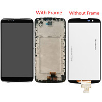 For LG K10 LTE K430 K430DS K420N LCD Screen and Digitizer Assembly With Front Frame Replacement!!
