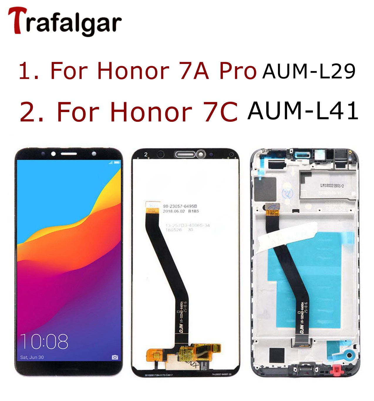 Huawei Honor 7A LCD Display Touch Screen Digitizer Honor 7S