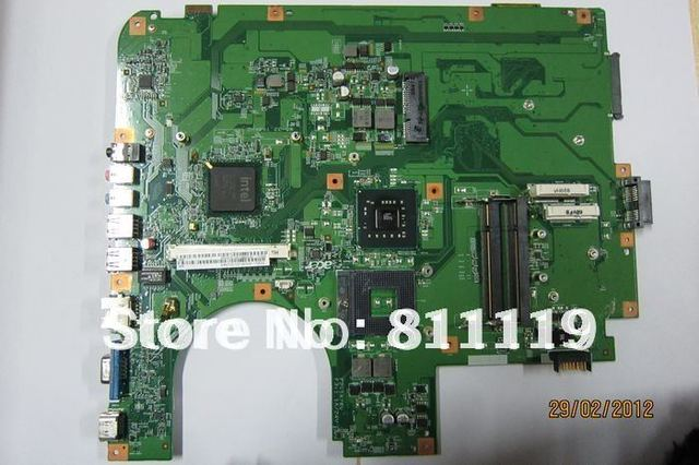 Laptop motherboard MBAYC01001 MB. AYC01.001 para 8730 BIG BEAR 2 M/B 08223-2 48.4AV01.021