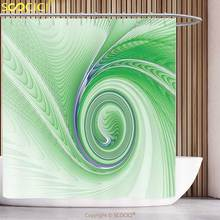 cool shower curtain spires decor a curve winds around fixed motif increasing spirals computer figure