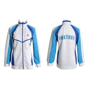 Image 2 - Anime Free! Iwatobi Haruka Nanase Cosplay Costume Jacket Unisex Hoodie High School Sportswear