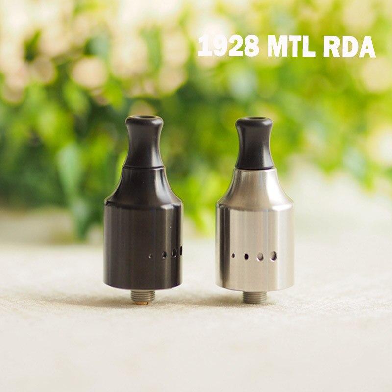 Оригинальный Cthulhu 1928 MTL RDA одинарная катушка RDA диаметром 22 мм с верхней крышкой и штифтом BF для электронных сигарет Squonker MODs
