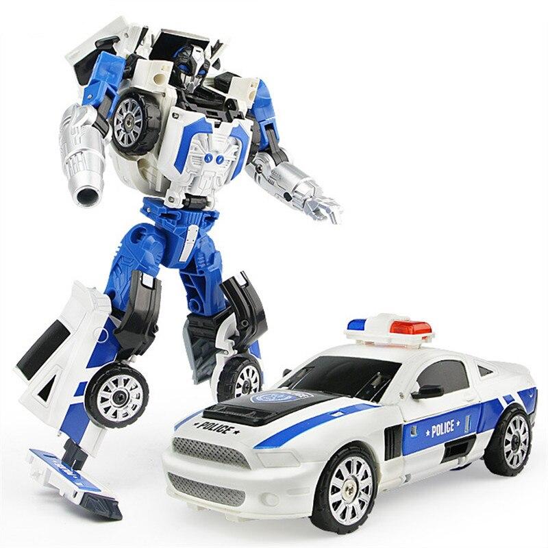Робот-трансформер «Город и мальчик» 5 в 1, безопасная командная машина, корабль, вертолет, мотоцикл, модель самолета из АБС-пластика, детская ...