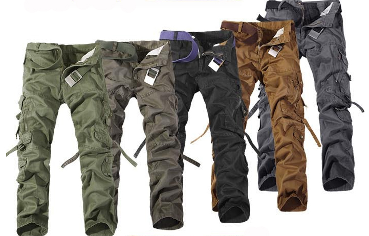 Pant Mens pants trousers sell loose more than mens wash overalls pocket Europe and the height pants New 2017 hot