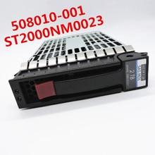 100% nowość w pudełku 3 lata gwarancji 2T SAS 3.5 cala 6Gb 2TB 508010 001 ST2000NM0023 potrzebujesz więcej zdjęć pod kątem, proszę o kontakt