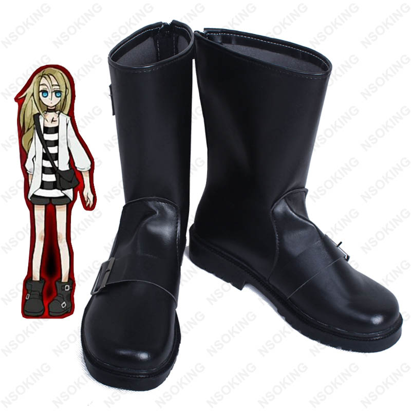 Game Angels of Death Rachel Gardner Ray Cosplay Shoes Boots Custom-made цена