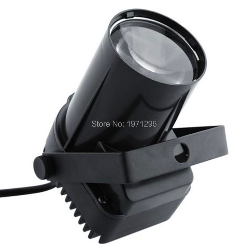 ФОТО Hot Laser Projector 10W RGBW 4in1 LED Pinspot Led Beam Spot DMX512 Light for Home Disco Party
