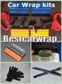 4 pcs Magnet gripper  / 4 pcs Squeegee 3M /1 pcs Knifeless tape 2 Pcs knife cutter / 1 pair Gloves Car wrap Tools kits