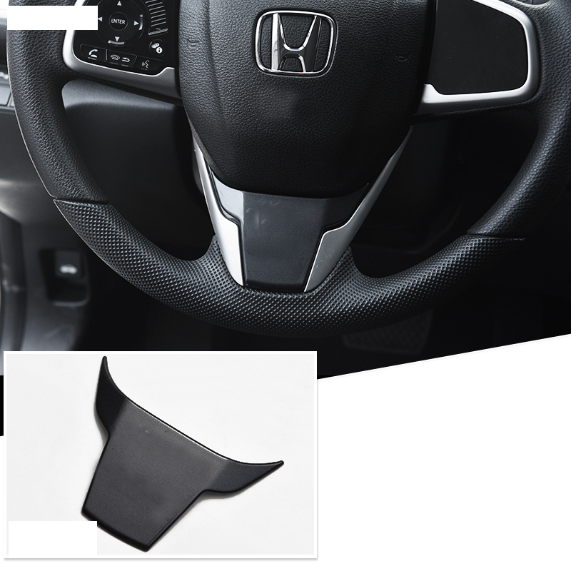 Lsrtw2017 abs car steering wheel trims with civic logo for honda civic 2016 2017 2018 2019 10th civic in Interior Mouldings from Automobiles Motorcycles
