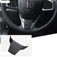 Lsrtw2017 abs car steering wheel trims with civic logo for honda civic 2016 2017 2018 2019 10th civic lsrtw2017 abs car armrest storage plate for honda civic 2016 2017 2018 2019 10 civic