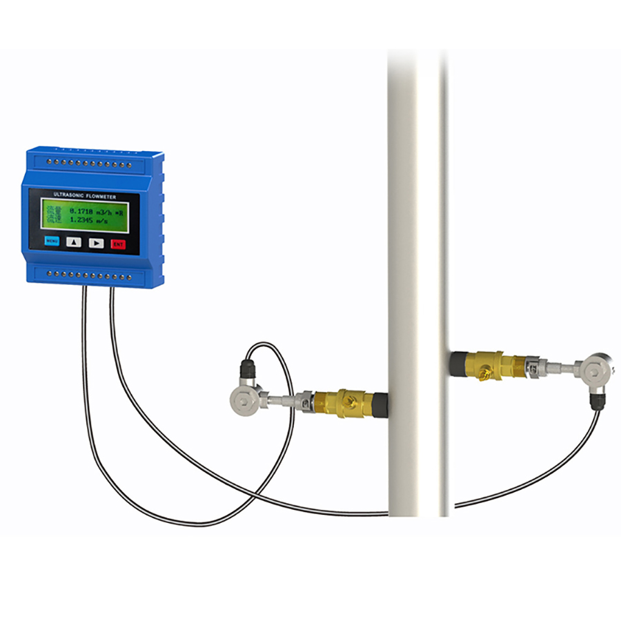 TUF-2000M Digital Ultrasonic Flow Meter Flowmeter DN50-700mm