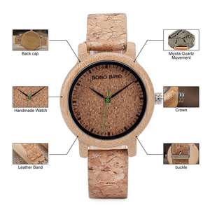 Image 5 - BOBO BIRD M12 Bamboo Wood Quartz Watch For Men And Women Wristwatches Top Brand Luxury With Japan Movement As Gift