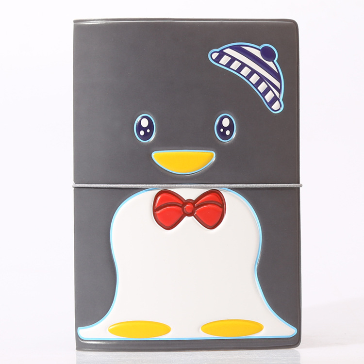 Горячая зарубежных дорожные аксессуары Обложка для паспорта, багажные аксессуары паспорт карты-пингвин