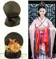 Antiguo chino peluca para mujer peluca estilo chino antiguo antiguo antigua princesa fuentes del partido de cosplay peluca de pelo en forma de