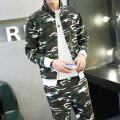 military air force men  suit stand collar sweatshirt tracksuits hoodies and pants M L XL XXL 3XL CG013