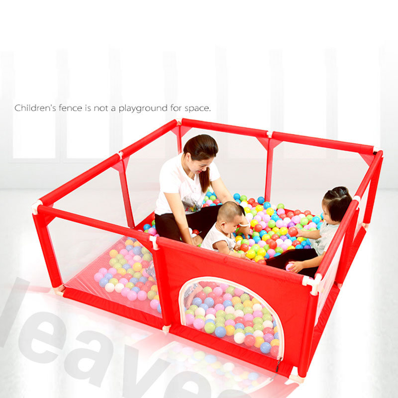 2019 Baby Playpen Kids Fence Plastic Baby Safety Fence Baby Game Indoor Baby Playpens Outdoor Games Children Play Fences