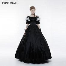 188773602 PUNK RAVE mujeres Steampunk vestido Vintage estilo victoriano Palacio  precioso vestido largo Feamle fiesta de noche de encaje ve.