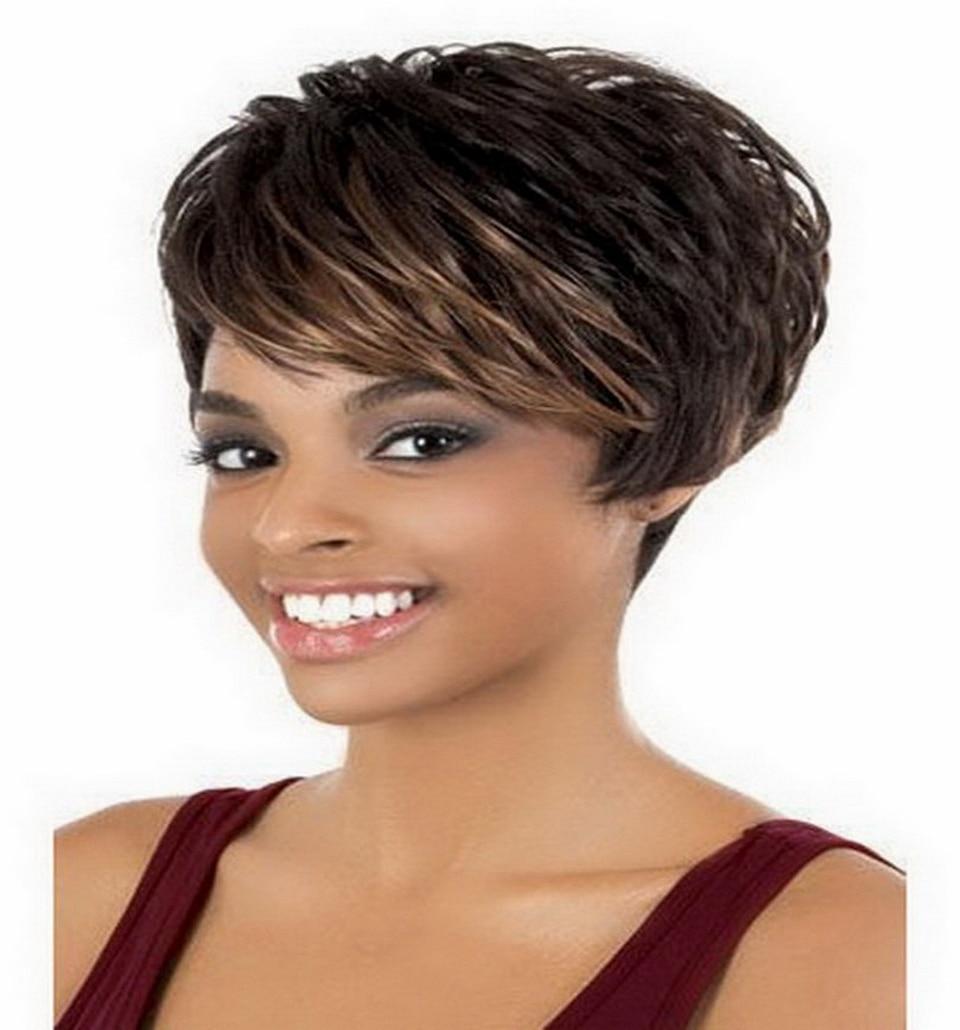 short dark brown hairstyles fade