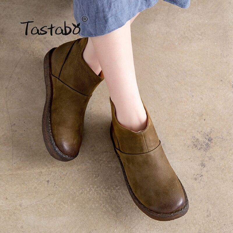 Kopen Goedkoop Tastabo Echt Leer Winter Laarzen Voor Vrouwen