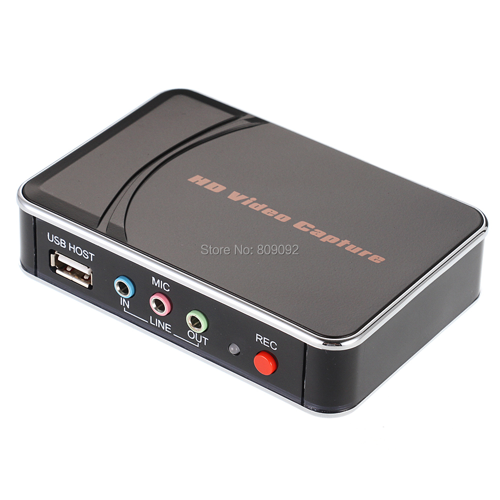 все цены на USB HD Game Video Capture Card 1080P HDMI YPBPR Recorder USB flash Disk Recorder Box for Xbox PS3 PS4 Video camera TV STB онлайн