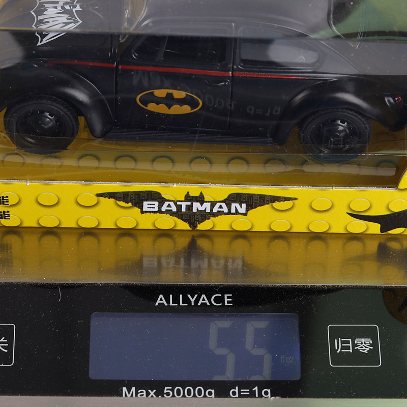 High-simulation-car136-scale-alloy-pull-back-Batman-BeetleCollection-metal-model-toysfree-shipping-3