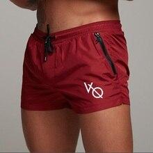 Mens shorts Calf-Length gyms Fitness Bodybuilding Casual Jog