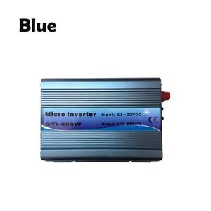 Image 3 - על מהפך עניבת רשת 600W 18V DC קלט 220V AC פלט עם MPPT פונקצית 99% יעילות טהור סינוס גל עבור אנרגיה סולארית מערכות