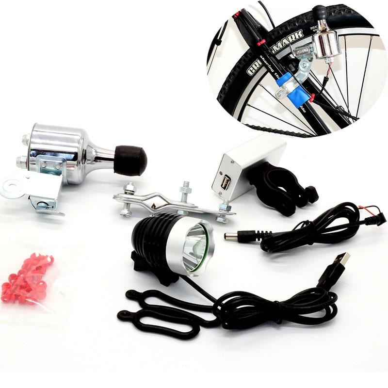 T6 Led Bike Light Bicycle Front Light Headlamp 12v6w Friction