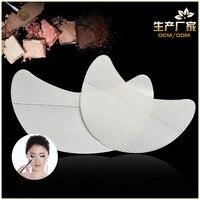 100 unidades/pacote de Maquiagem sombra de olho adesivos isolamento cílios Enxertadas adesivos sob o olho adesivos fumado Cosméticos Ferramenta