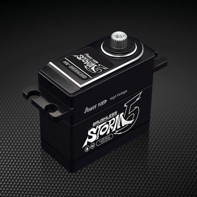 Power HD STORM-5 full metal servo 18KG/70g brushless motor for RC cars jx pdi 5521mg 20kg high torque metal gear digital servo for rc model