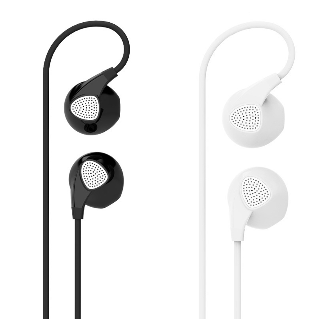 Marsnaska 100% New Earphone Noise Canceling Headset with Microphone Stereo Earpods for mobile phone iPhone Xiaomi MP3 Gaming marsnaska new shoelaces noise cancellation earpiece stereo metal bass earphone 3 5mm earbuds with mic for iphone xiaomi samsung