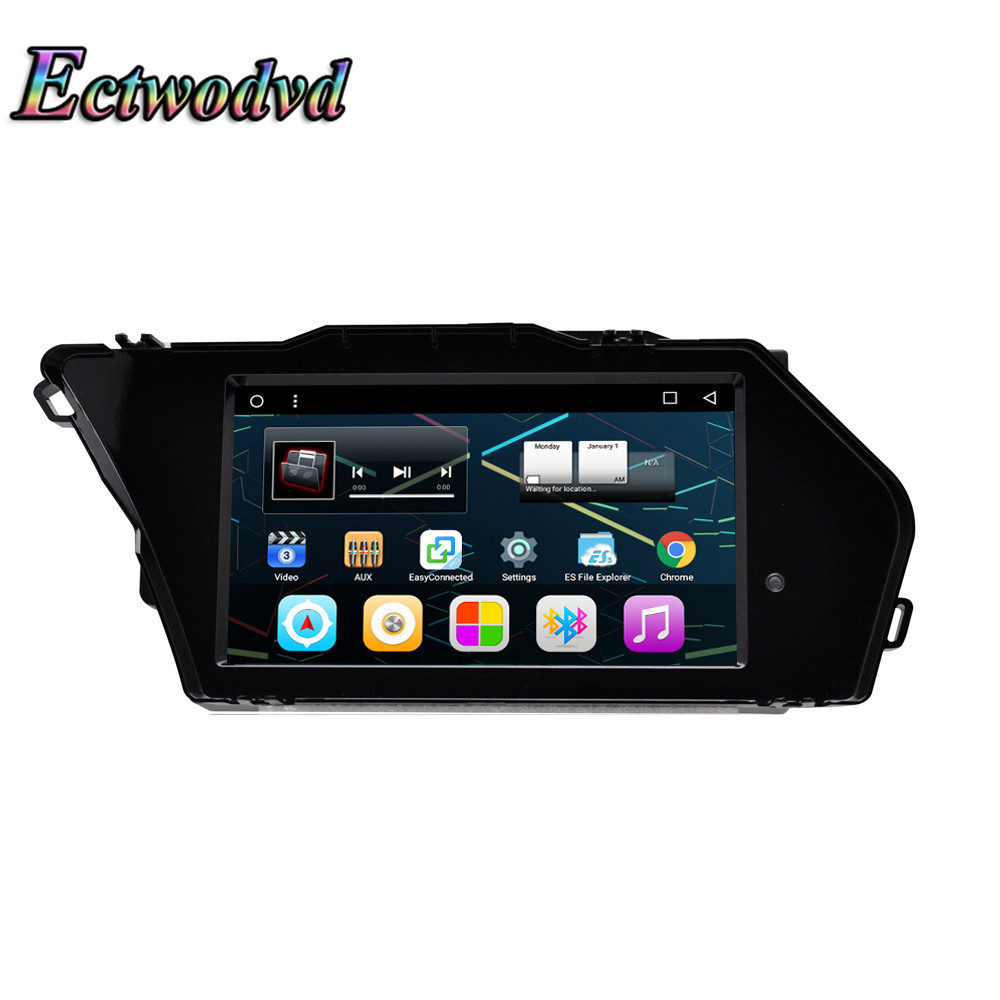Ectwodvd Quad Core Android 6.0 Car DVD GPS Navigation Radio Stereo for Mercedes Benz GLK X204 2013 2014 2015 2016 2017