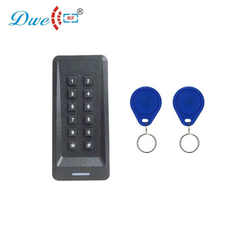 Narrow door password scan readers WG 26 34 access control rfid reader with key token                                            Narrow door password scan readers WG 26 34 access control rfid reader with key token