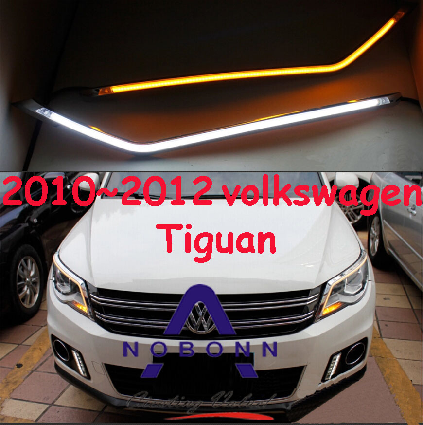 Tiguan daytime light,2009~2012,Free ship!LED,Tiguan fog light,2ps/set,Touareg,Golf7,Tiguan teana fog light 2pcs set led sylphy daytime light free ship livina fog light